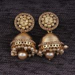 Amazon India :  I Jewels Gold Plated Jhumki Earrings for Women at Rs.229