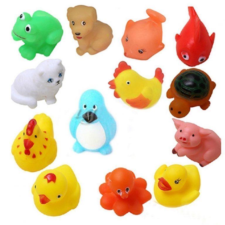 Amazon India : KISMIS bath toys chu chu 12 piece set, Multi Color at Rs.189