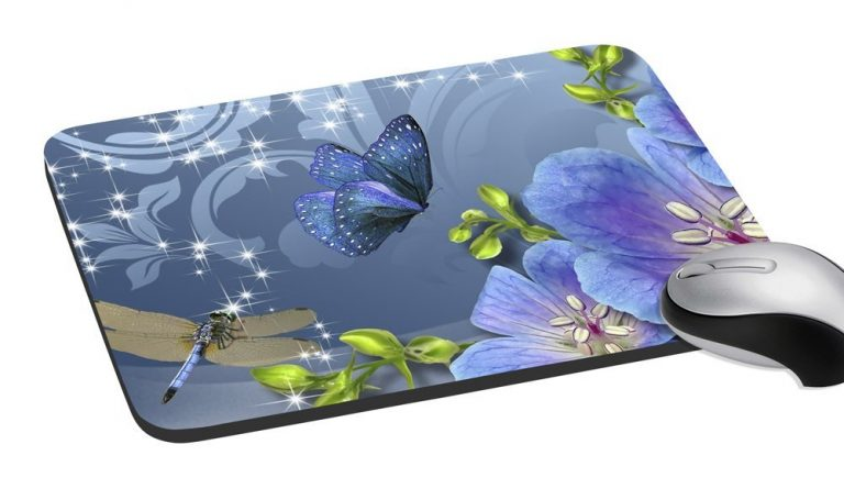 Amazon India : meSleep Butterfly Mouse Pad at Rs.149