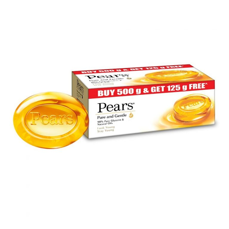 Amazon India : Pears Pure and Gentle Bathing Bar, 125g (Buy 4 Get 1 Free) at Rs.225