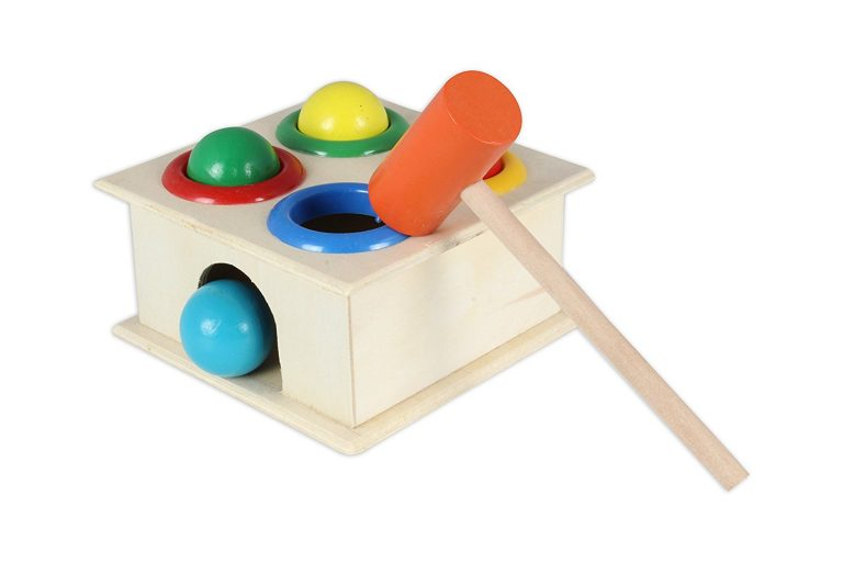 Amazon India : BAYBEE Wooden Hammer Case Toy For Kids at s.360