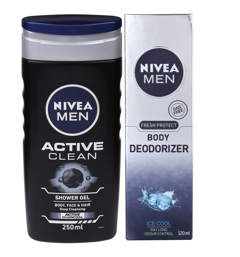 Amazon India : Nivea Men Cool and Clean Combo at Rs.279