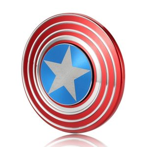 Amazon India : Excel Productions Captain America Metal Shield Hand Spinner, Red at Rs.269