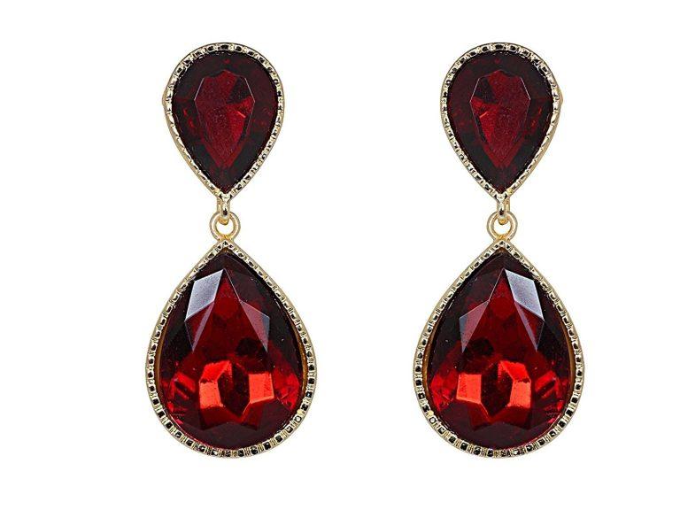 Amazon India : Crunchy Fashion Jewellery Earrings for Girls Fancy Party Wear Earrings for Women at Rs.375