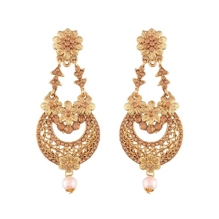 Amazon India : I Jewels Chandelier Earrings For Women at Rs.225