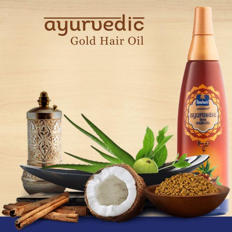 Amazon India : Parachute Advansed Ayurvedic Gold Hair Oil, 200ml at Rs.147