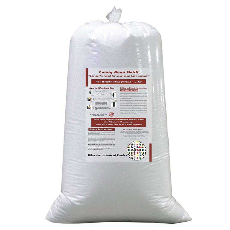 Amazon India : Comfy Bean Bags 1 Kg Beans Filler (White) at Rs.479