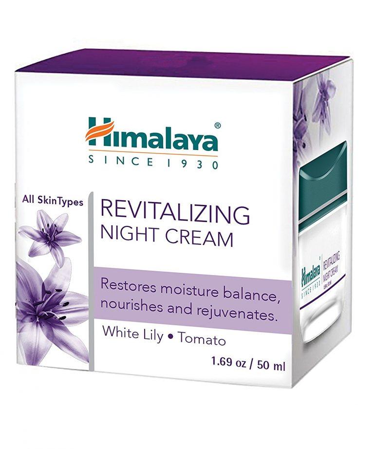 Amazon India : Himalaya Herbals Revitalizing Night Cream, 50gm at Rs.176.25