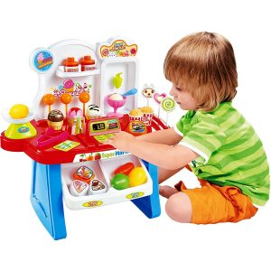 Amazon India : Toyshine Supermarket Shop, 34 Pcs, with Sound Effects at Rs.789.57