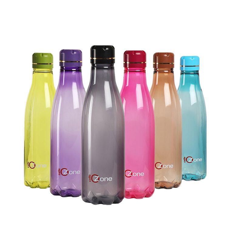 Amazon India : Cello Ozone Bottle 1000 Ml, Set Of 6, Assorted at Rs.739