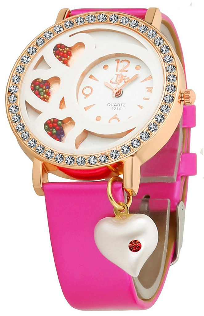 Amazon India : DFa Rose Gold Analogue Watch for Girls at Rs.425
