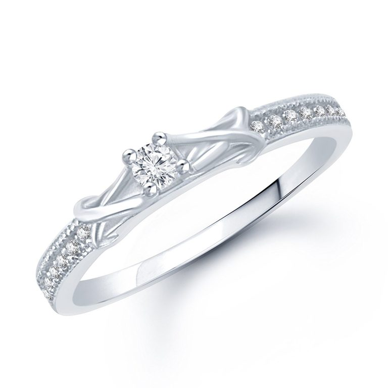 Amazon India : Vk Brass Ring For Women - Silver at Rs.188