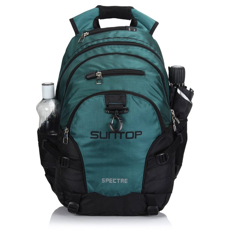 Amazon India : Suntop Spectre 35 Ltr Black & Blue Casual Backpack at Rs.999
