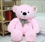 Amazon: SOFT TOYS 4 Feet Teddy Bear Pink - 121 Cm @Rs.999