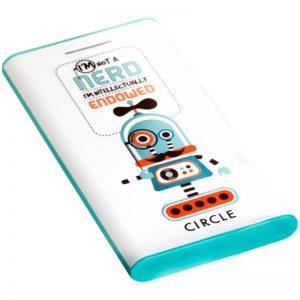 Croma Retail : CIRCLE POWERBANK NERD DESIGNER 5200MAH at Rs.714