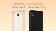 [Sale on 25th April 12PM] Redmi Note 5 Pro