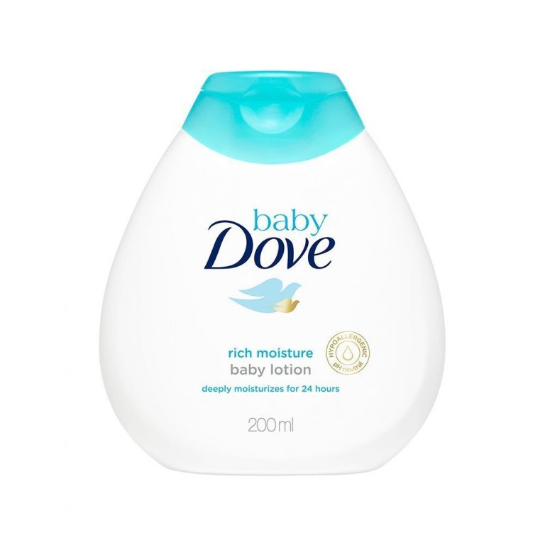 Baby Dove Baby Lotion Rich Moisture (200ml) at Rs.147