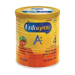 "Amazon India : "" Enfagrow A+ Nutritional Milk Powder (2 years and above) Chocolate: 400 g at Rs.495"
