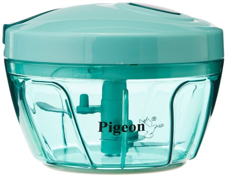 Amazon India : Pigeon New Handy Plastic Chopper with 3 Blades, Green at Rs.249