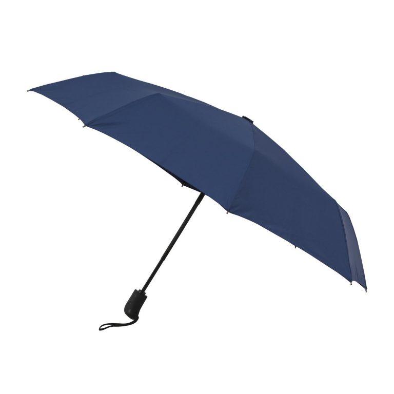 Amazon India : Solimo Automatic Travel Umbrella - Blue at Rs.649