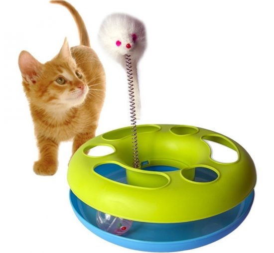 Amazon India : Pets Empire Catch The Mouse Motion Cat Toy (9x9-inch) at Rs.499