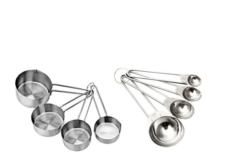 Amazon India : Taluka Set Of 4 Heavy Measuring Cup And 4 Measuring Spoon at Rs.299