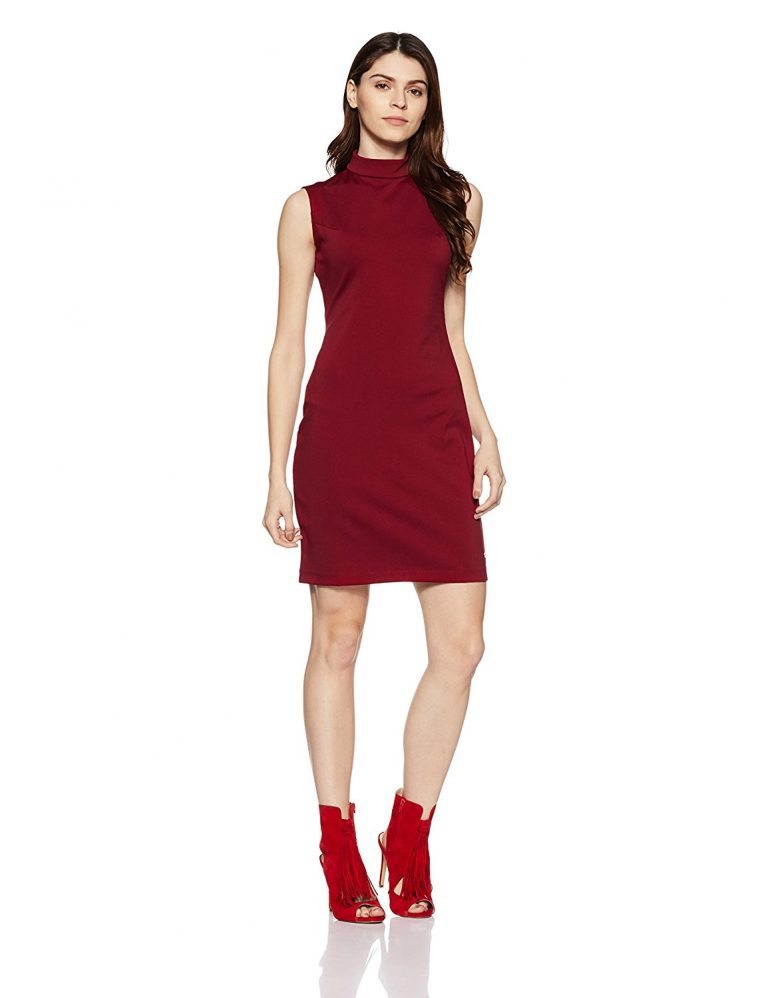Amazon India : US Polo Association Women's Cotton Cut-Out Dress at Rs.1438