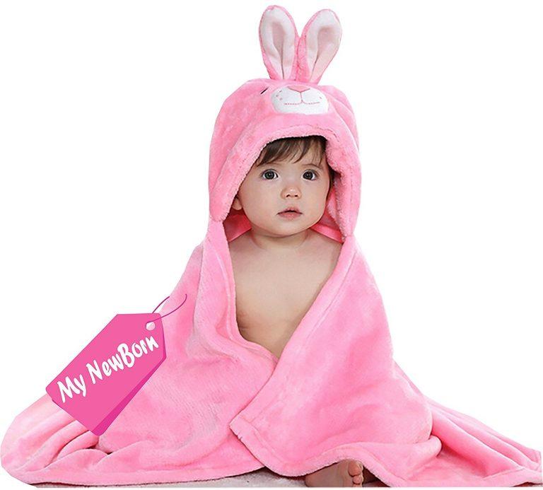 Amazon India : MY NEWBORN®baby bath towel at Rs.279