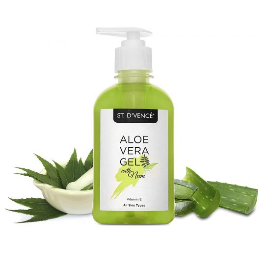 Amazon India : St. D'Vence Aloe Vera & Neem Gel - 275 Ml at Rs.210