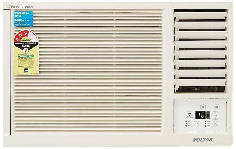 Amazon India : Voltas 1 Ton 3 Star Window AC (White) at Rs.21,189