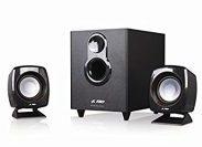 Amazon: F&D F-203G 2.1 Channel Multimedia Speakers System (Black)