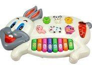 Amazon India : Toyshine Rabbits Musical Piano at Rs.510.57