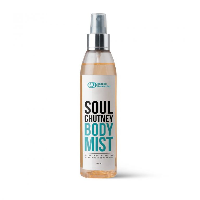 Amazon India : Happily Unmarried Body Mist Soul Chutney, 200 ml at Rs.374