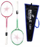 Amazon India : StarX Multi-shaft Steel Badminton Racquet Set, Adult G4-3 3/4-inch (Multicolor) at Rs.260