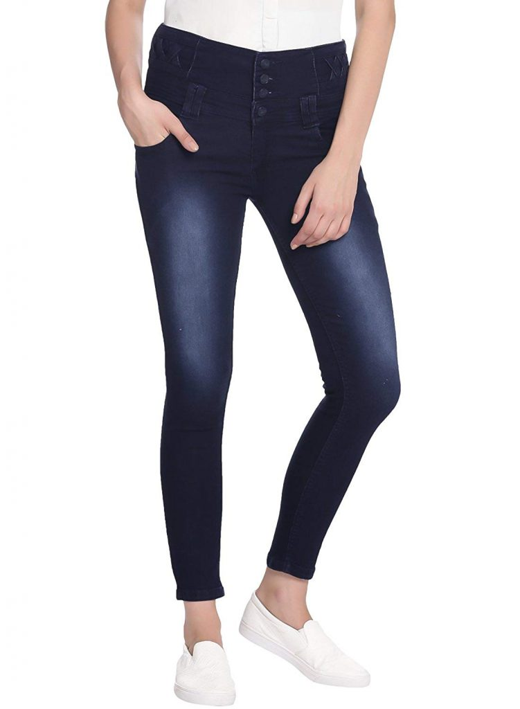 Amazon India : Broadstar Denim Solid Casual Jeans For Women at Rs.929