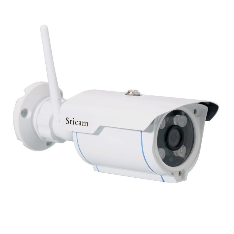 Amazon India : Sricam Wireless Waterproof Wi-Fi HD 720P Outdoor Security Camera with SD Card Slot (White) at Rs.3299