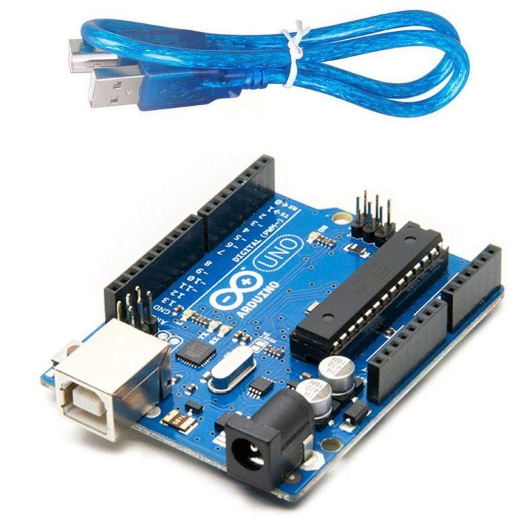 Amazon India : Uno R3 ATmega328P with USB Cable with ATMEGA16U2 Arduino at Rs.491