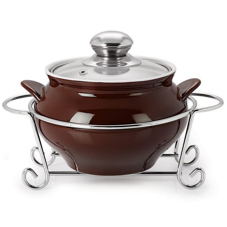 Amazon India : Cello Prego GUSTO HANDI CASSEROLE WITH METAL STAND 1500 ml BROWN at Rs.572