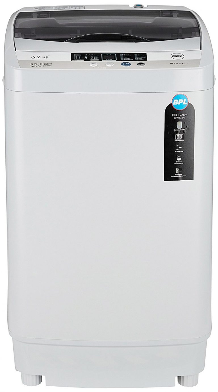 Amazon India : BPL 6.2 kg Fully-Automatic Top Loading Washing Machine at Rs.10990