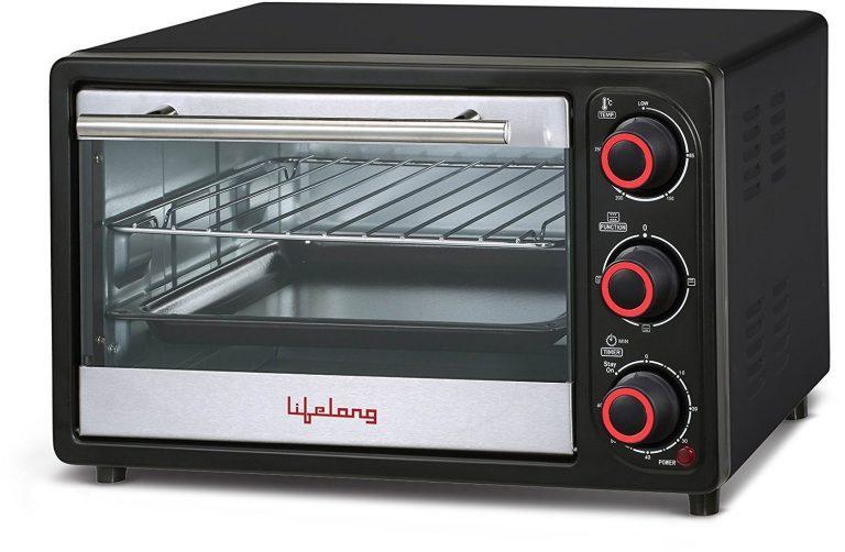 Amazon India : Lifelong 16L 1200-Watt Oven Toaster Griller, Black at Rs.2799
