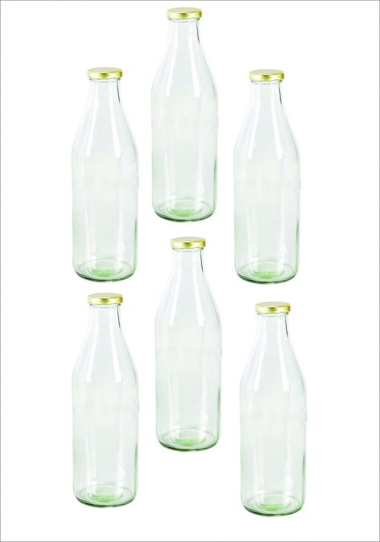 Amazon India : Pure Source India Glass Bottle With Air Tight Cap at Rs.699
