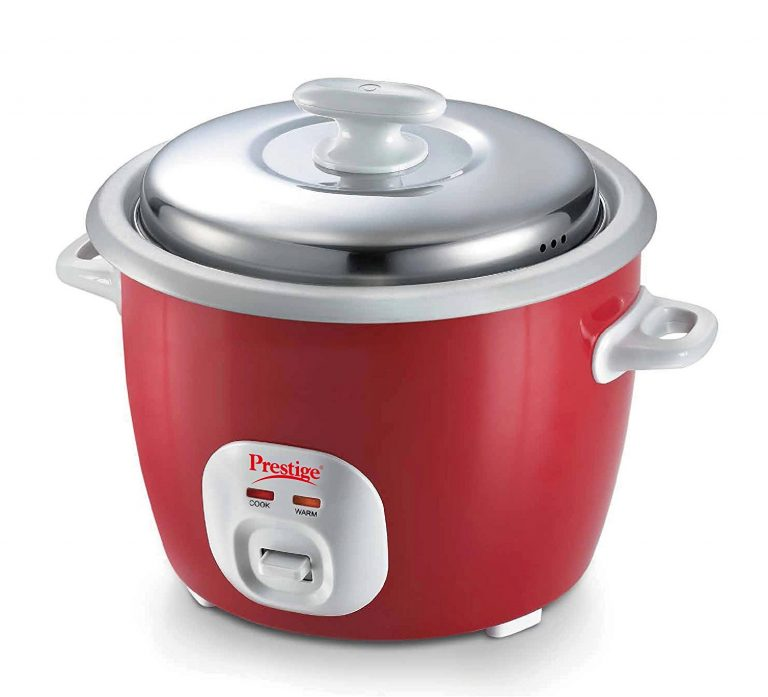 Amazon India : Prestige Delight Electric Rice Cooker with 2 aluminium cooking pans at Rs.2029