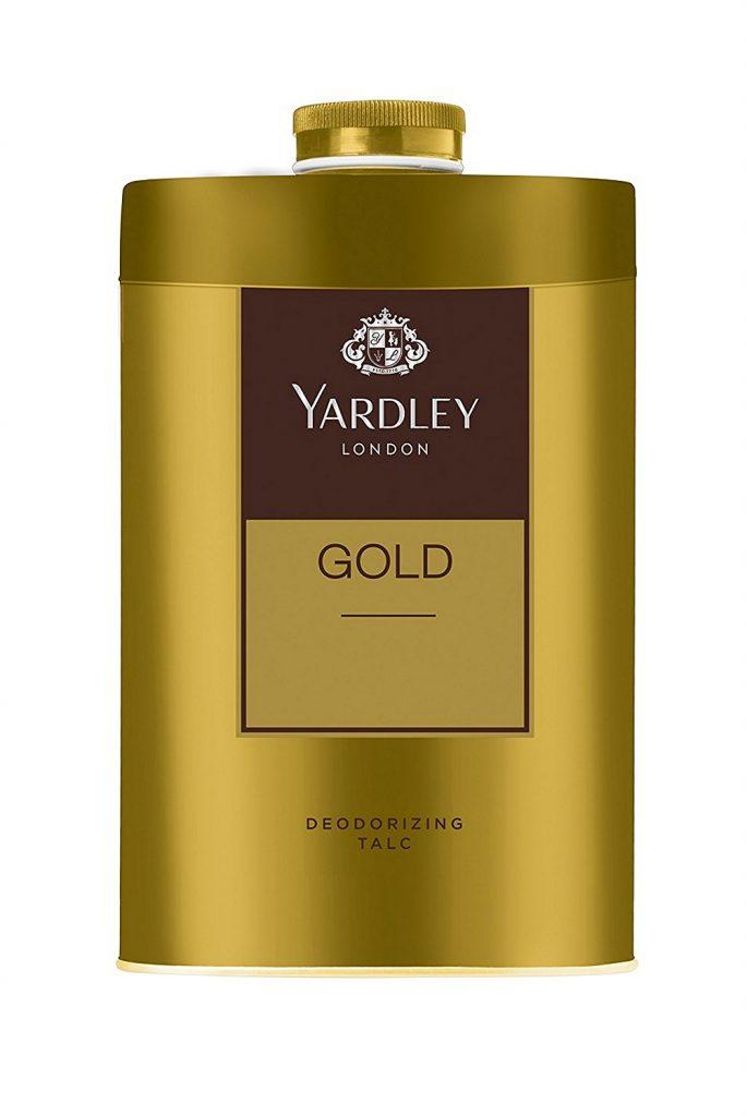 Amazon India : Yardley London - Gold Deodorizing Talc for Men, 250g at Rs.136