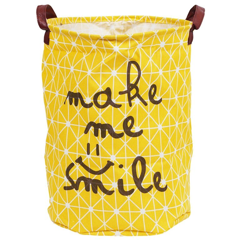 Amazon India : Story@Home European Style Multipurpose Laundry Bag with Carry Handle, Yellow at Rs.319