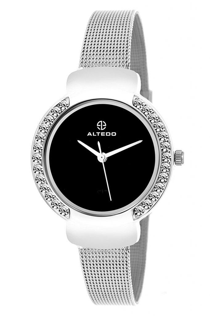 Amazon India : Altedo Analog Black Dial Women's Watch - Eternal Series at Rs.499