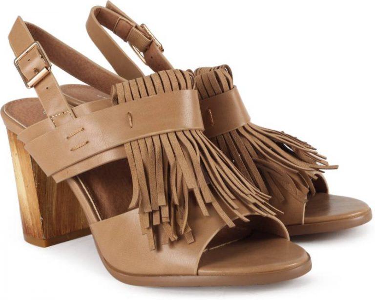 Flipkart : Chemistry Women Beige Heels at Rs.784