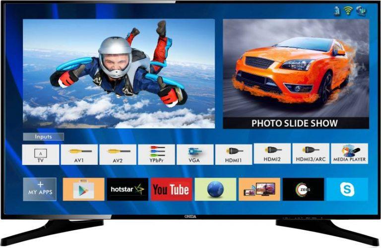 Flipkart : Onida LIVEGENIUS-2 107.95cm (43 inch) Full HD LED Smart TV at Rs.26999