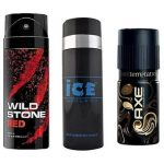 Shopclues : Wildstone + Ice deo + Axe deo (Assorted) at Rs.439