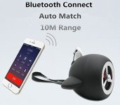 Amazon India : ILU Portable Wireless 2.1 Bluetooth Speaker for Mobile Tablet (Black) at Rs.999