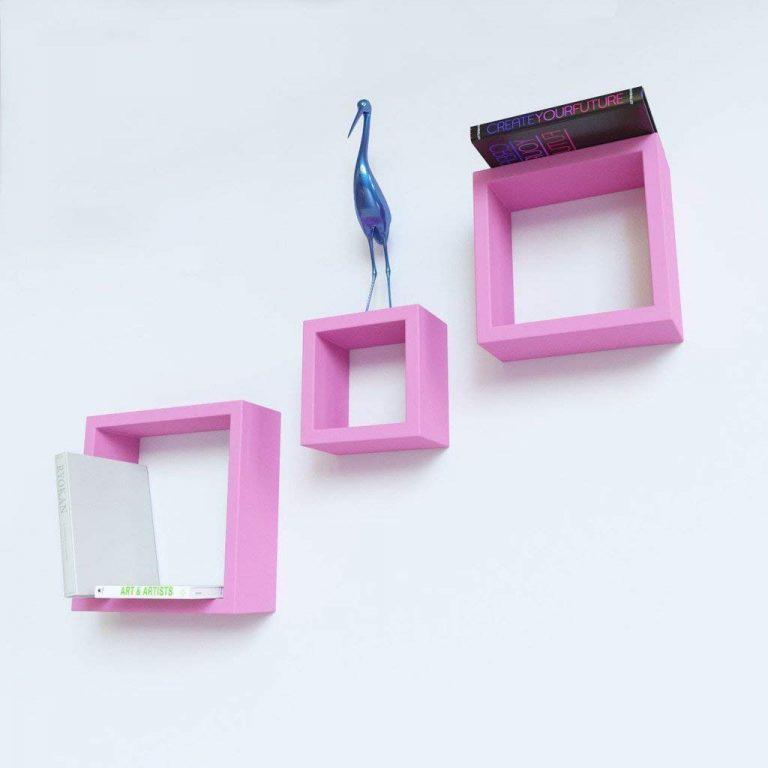 Amazon India : Encore Decor Nesting Designer Storage Shelf Set of 3 Wall Shelves at Rs.949